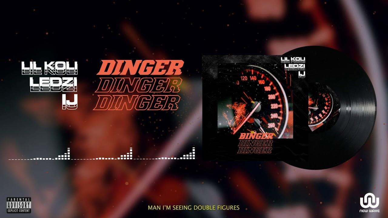 Download Lil Koli ft Ledzi & IJ - DINGER (Official Lyric Video)