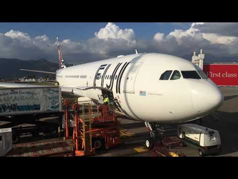 Airline and food Review: Fiji airways Auckland to Nadi Economy class