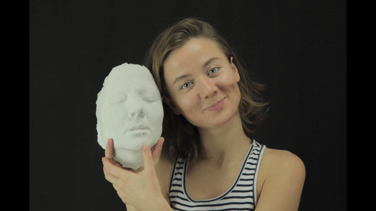 Силиконовое лицо (силиконовый слепок) своими руками Арт-студия Натальи 81
