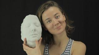Создание гипсового слепка лица своими руками и что можно с ним сделать Часть 1