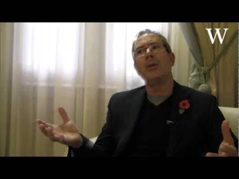 Ben Elton on his novel Two Brothers