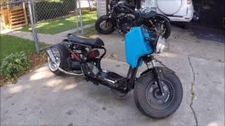 Honda Ruckus Gy6 150cc build and ride