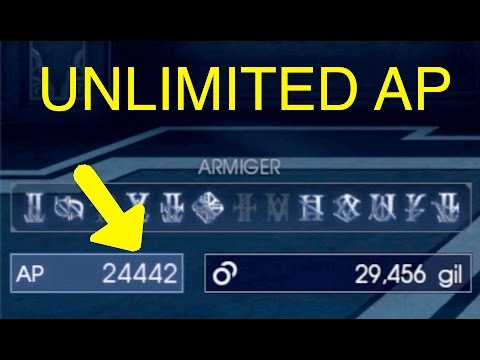 Final Fantasy XV: Unlimited AP Trick (Magitek Generator)