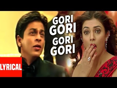 Gori Gori Lyrical Video | Main Hoon Na | Shahrukh Khan, Sushmita Sen, Suniel Shetty