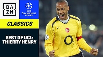 Thierry Henry: Best Of | UEFA Champions League | DAZN Classics