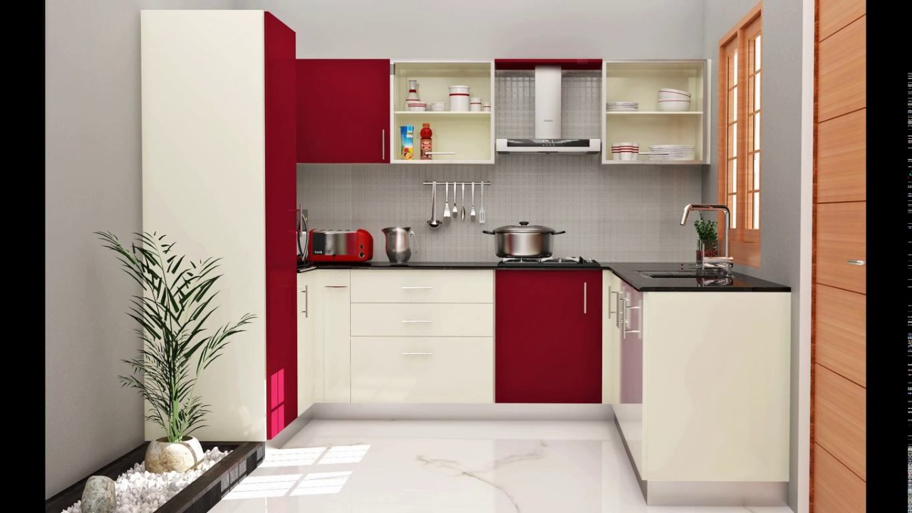 Kitchen laminates designs india - YouTube