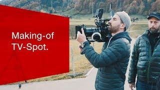 "Making of TV Spot ""Ausreden""."