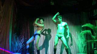 Repeat youtube video Club Cosmo Bali - Gogo Boys Show