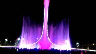 Шоу поющих фонтанов. Часть 3. Олимпийский парк .Сочи