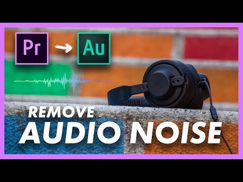 How to Remove Audio Noise | FREE without plugins I Adobe Premiere Pro CC & Audition CC Tutorial