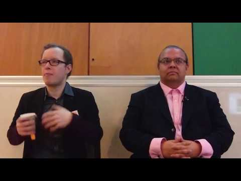 Vinay Gupta and Rob Knight on blockchain governance, at Cambridge