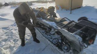 Дикие Покатушки На Снегоходе -35
