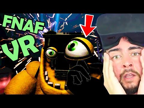 FNAF VR: FIXING GOLDEN FREDDY! Help Wanted... I'm Crying (Five Nights at Freddy's VR ENDING) thumbnail