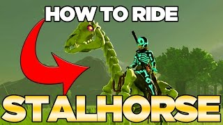 MY DEAD HORSE! H๐w to Ride The StalHorse in Breath of the Wild   Austin John Plays