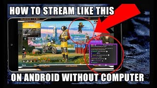How To Stream Like Professional Streamers in just 5 Minutes.Stream From Android Without PC.