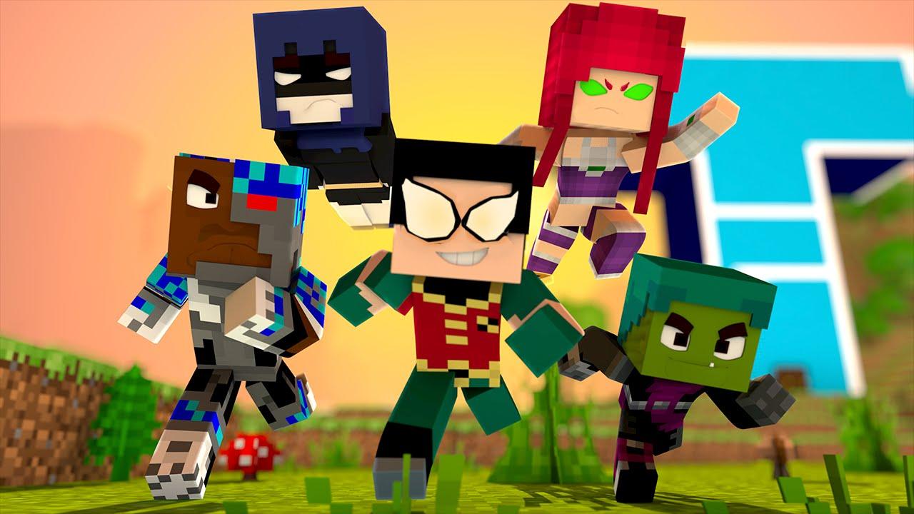 Minecraft : JOVENS TITÃS !!