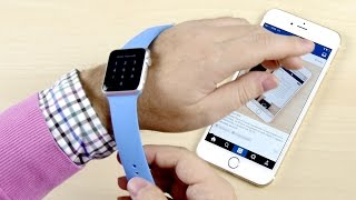 Apple Watch - настройка и первое впечатление(Конкурс на Apple Watch от Wylsacom и спонсора Yota: http://www.youtube.com/watch?v=uzOBMWi818w Часы Apple Watch можно купить у AppleJesus., 2015-04-25T16:40:27.000Z)