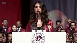 İstanbul Tıp Fakültesi 184. Dönem Birincisi Dr. Sevilay Ertürk Mezuniyet Konuşması