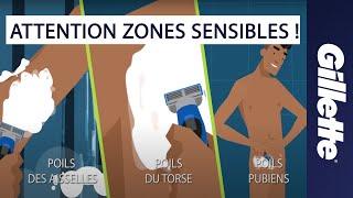 Comment se raser le corps, les poils pubiens, le torse et les aisselles | Gillette STYLER