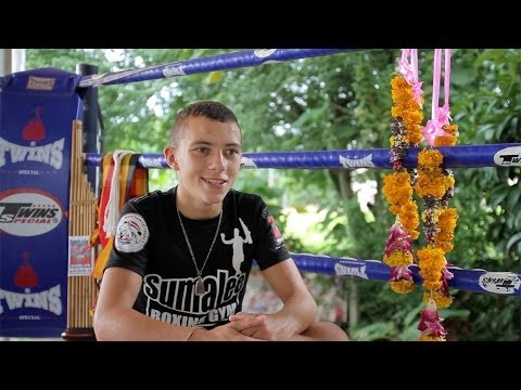 Interview with Scottish Pro Muay Thai Fighter Jordan Coe at Sumalee Boxing Gym