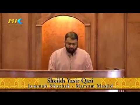 Pleasure of Salah with Yasser Qadhi.