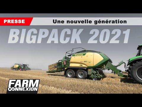 KRONE Big Pack 2021 / La nouvelle presse HD se dévoile