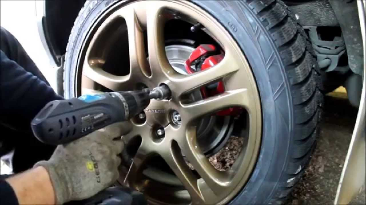 Subaru Impreza Fix Change On Winter Tires Youtube