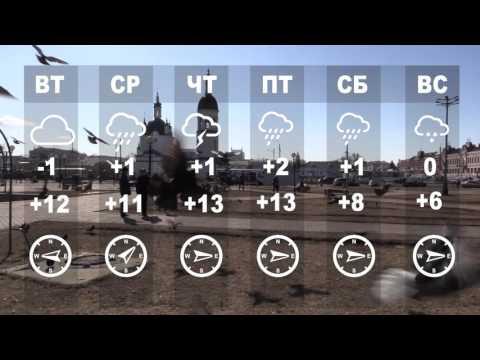 Предварительный прогноз погоды на неделю