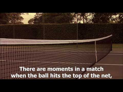 Match point (2005) - 'With a little luck you win'