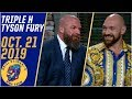Triple H Compares Tyson Fury's Wrestling Potential To Floyd Mayweather   Ariel Helwani's MMA Show