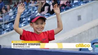 Gambar cover Go inside the new and improved Coolray Field with Cara and the Gwinnett Stripers!