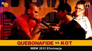 Bitwa: KOT vs QUEBONAFIDE [WBW 2012 Freestyle Grand Prix Śródmieścia]