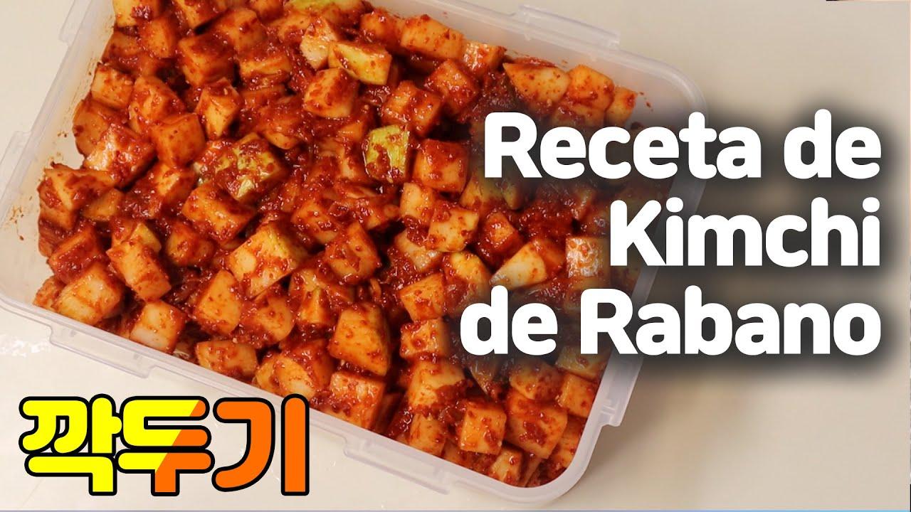 Como Hacer Kimchi De Rabano Comida Fermentada Recetas Comida Saludable Recetas