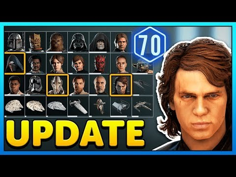 Anakin + So many Epic Star Cards! - Star Wars Battlefront 2 Collection Update thumbnail