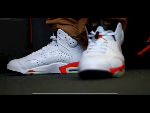 fae18a04047f Air Jordan 6 VI Infrared Pack Review and On Feet - YouTube