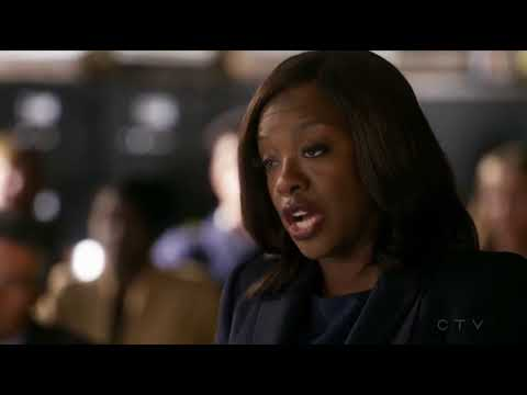 """""""I'm his mother!"""" How to get away with Murder S4 EP11"""