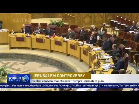 Islamic Arabs planning Chaos for Trump USA declaration Jerusalem Capital of Israel December 2017