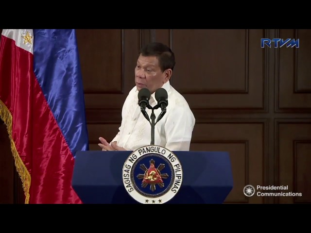 Duterte: 'I'm not Marcos… no nationwide martial law'
