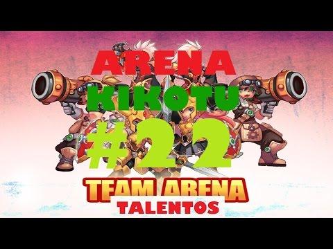 Mejorando Voy Con Equipo Viejo Team Arena   NosTale   Kikotu