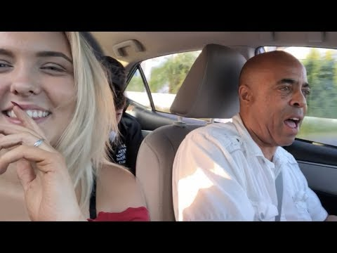 My Uber Driver Surprises Me By Rapping...*not even clickbait lol*