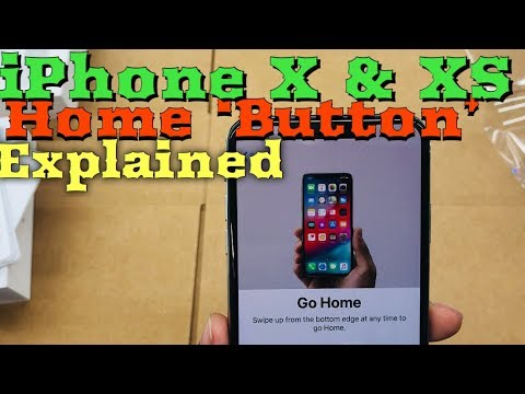 """How To Use iPhone X & XS Home """"Button"""""""