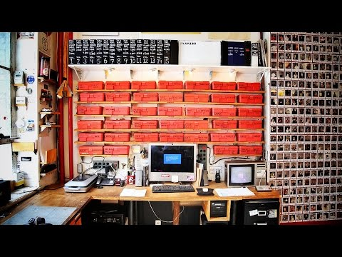 Casey Neistat Launches Studio Series, Shows Us How He Keeps Stuff Organized: Red Boxes