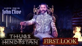 """""""Thugs Of Hindostan"""" Main Villain Look Revealed, Llyod Owen in And as John Clive, Aamir Khan"""