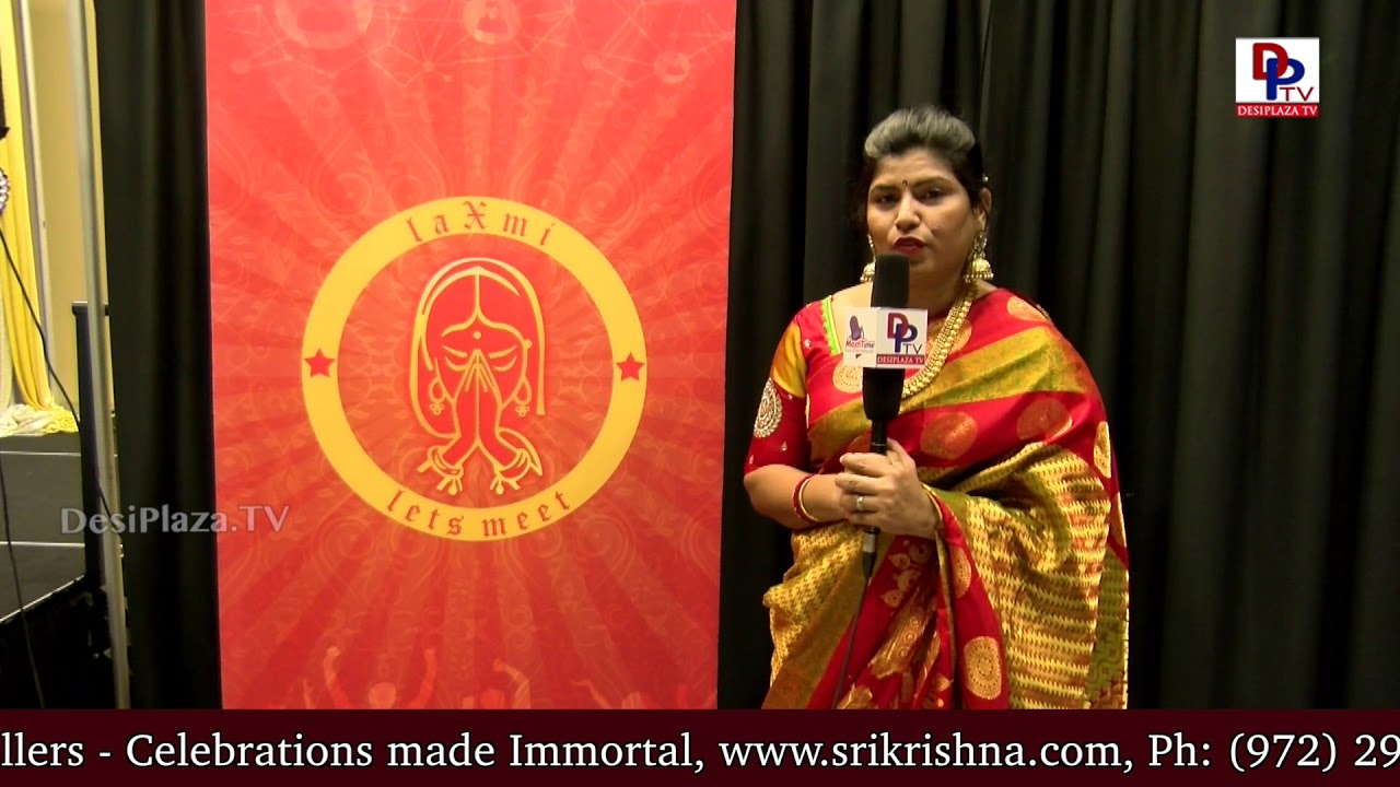 Prasanthi Ballada, 'LAXMI - Let's Meet', Gold Sponsor, NATA International Womens Day speaks to DPTV