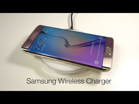 Samsung Wireless Charging Pad for Galaxy S6 / S6 edge - Qi Standard