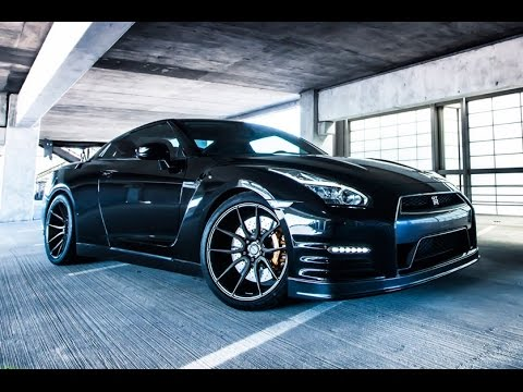 Nissan GTR on ADV1 Wheels