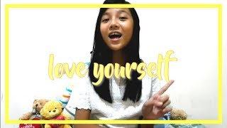 Video Love Yourself - Justin Bieber   Misellia Ikwan (11 years old) download MP3, 3GP, MP4, WEBM, AVI, FLV Juni 2018