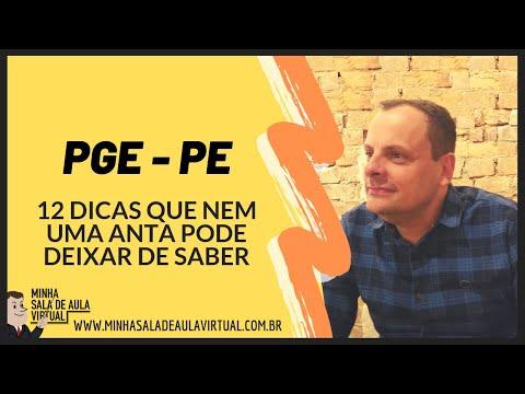 PGE-PE - 12 DICAS QUE NEM UMA ANTA PODE DEIXAR DE SABER
