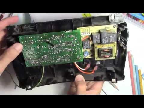 how to fix a garage door opener board repair - remote not working - youtube