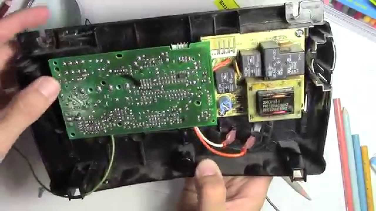 hight resolution of how to fix a garage door opener board repair remote not working youtube